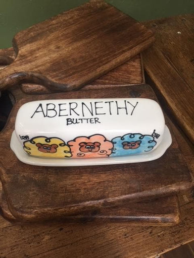 Abernethy Butter Dish - Sheep - SoulBia