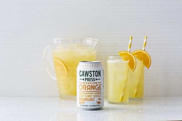 Cawston Press Sparkling Orange- 330ml - SoulBia