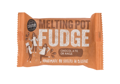 Melting Pot Fudge Chocolate Orange Fudge -90g - SoulBia