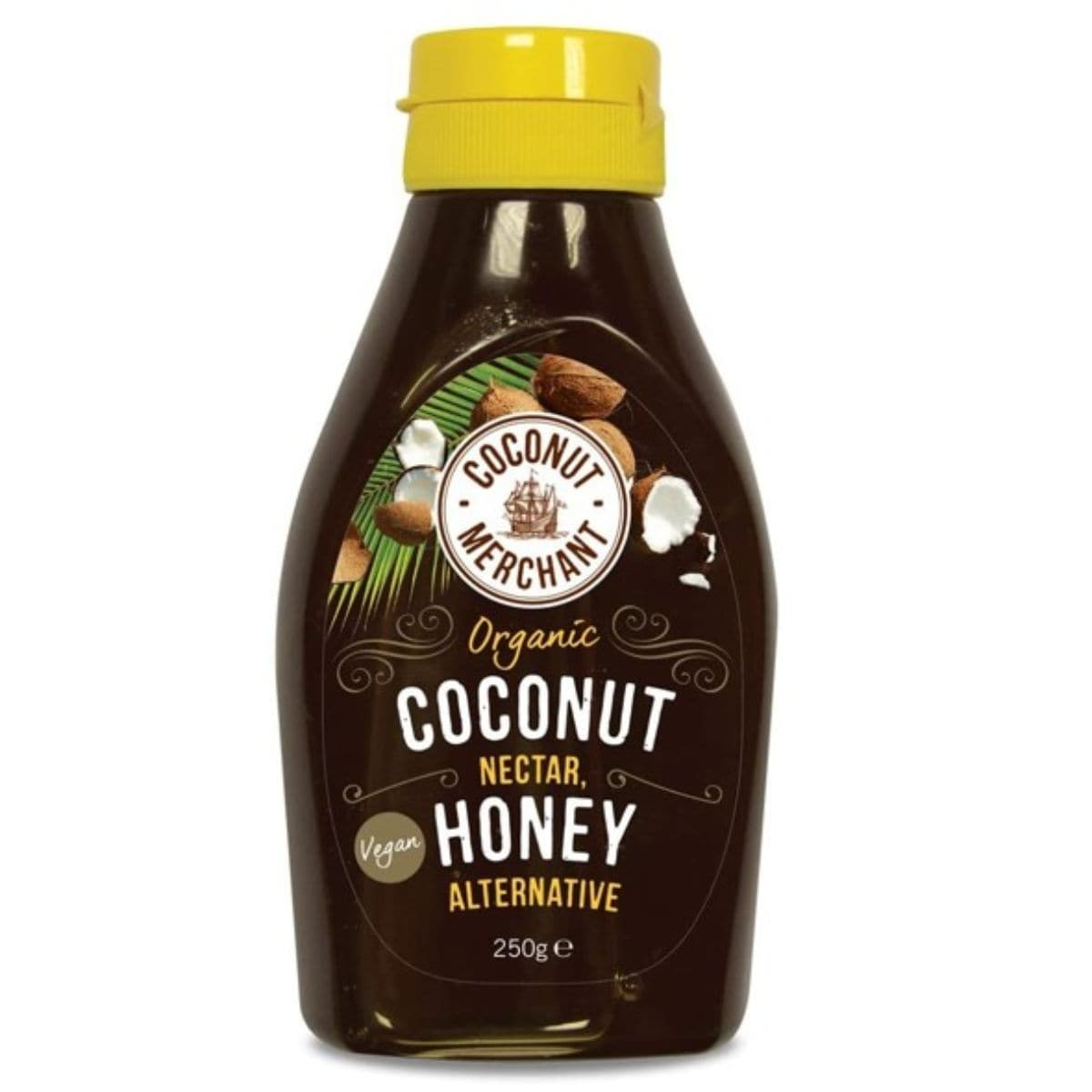 Coconut Merchant Organic Vegan Squeezy Nectar Honey - 250g - SoulBia