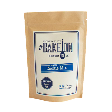 Flower & White BakeOn - Cookie Mix 375g - SoulBia
