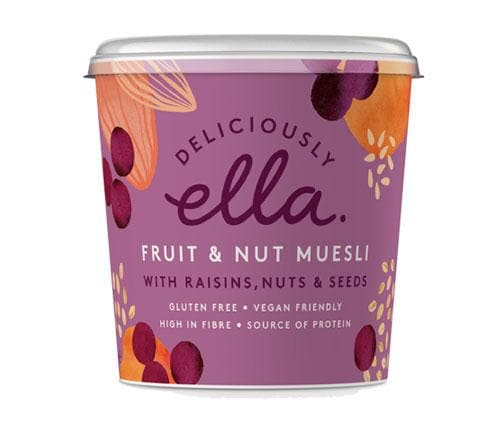 Deliciously Ella - Fruit & Nut Muesli Pot - 90g - SoulBia