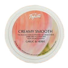 Tofutti Creamy Smooth Garlic & Herb - 225g - SoulBia