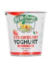 Old MacDonnell's Farm Natural Probiotic Yoghurt Strawberry (240g) - SoulBia