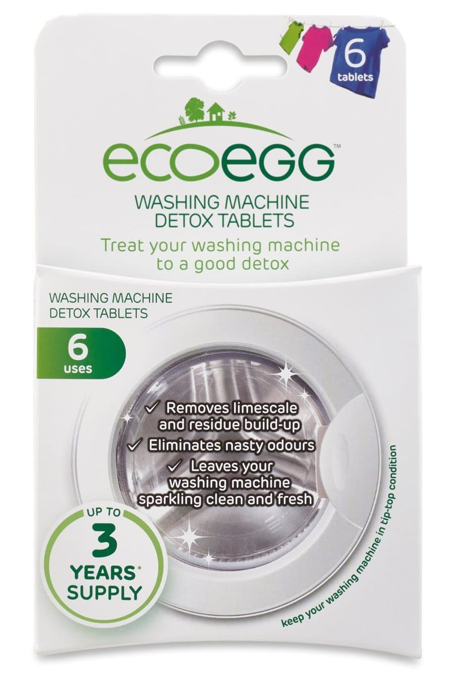 Ecoegg  Washing Machine Detox Tablets - SoulBia