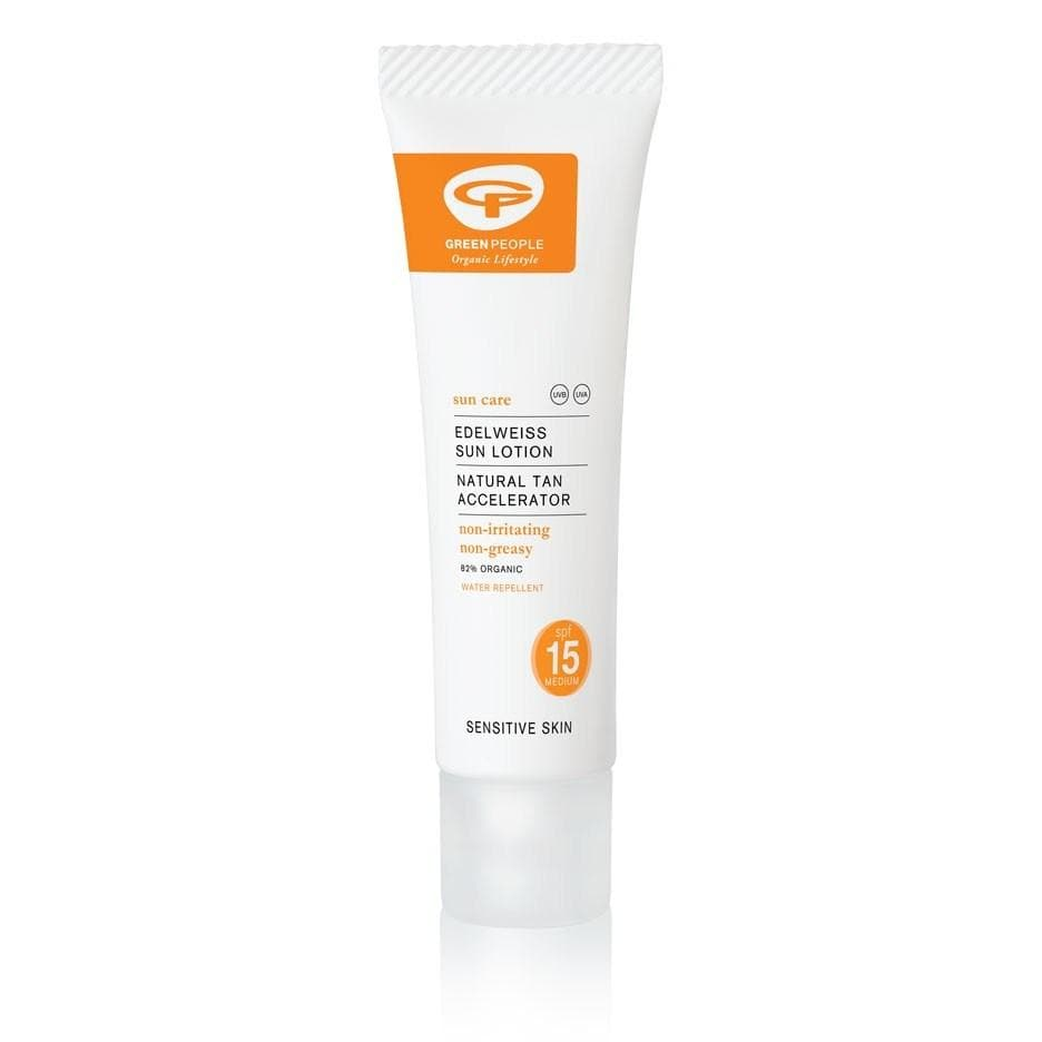 Green People  SPF15 Edelweiss Sun Lotion 200ml - SoulBia
