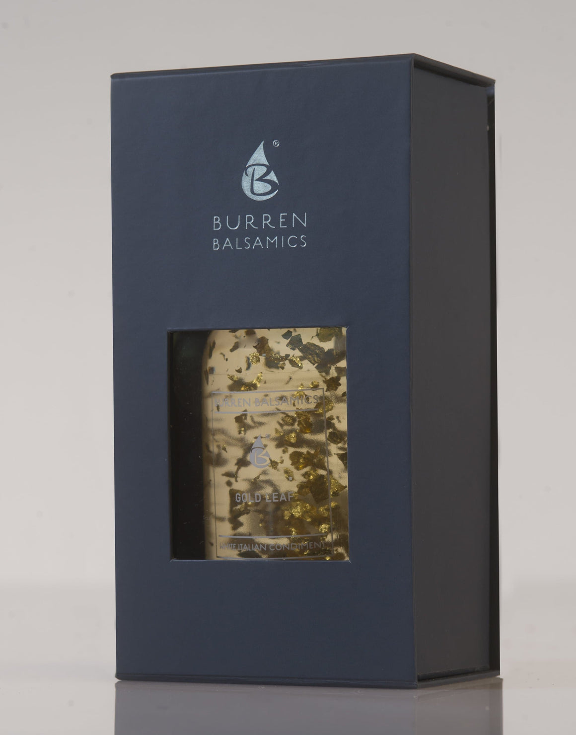 Burren Balsamics - 24 Carat Gold Leaf White Italian Balsamic Vinegar 200ml - SoulBia
