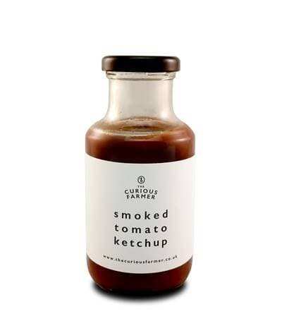 The Curious Farmer Smoked Tomato Ketchup 200g - SoulBia