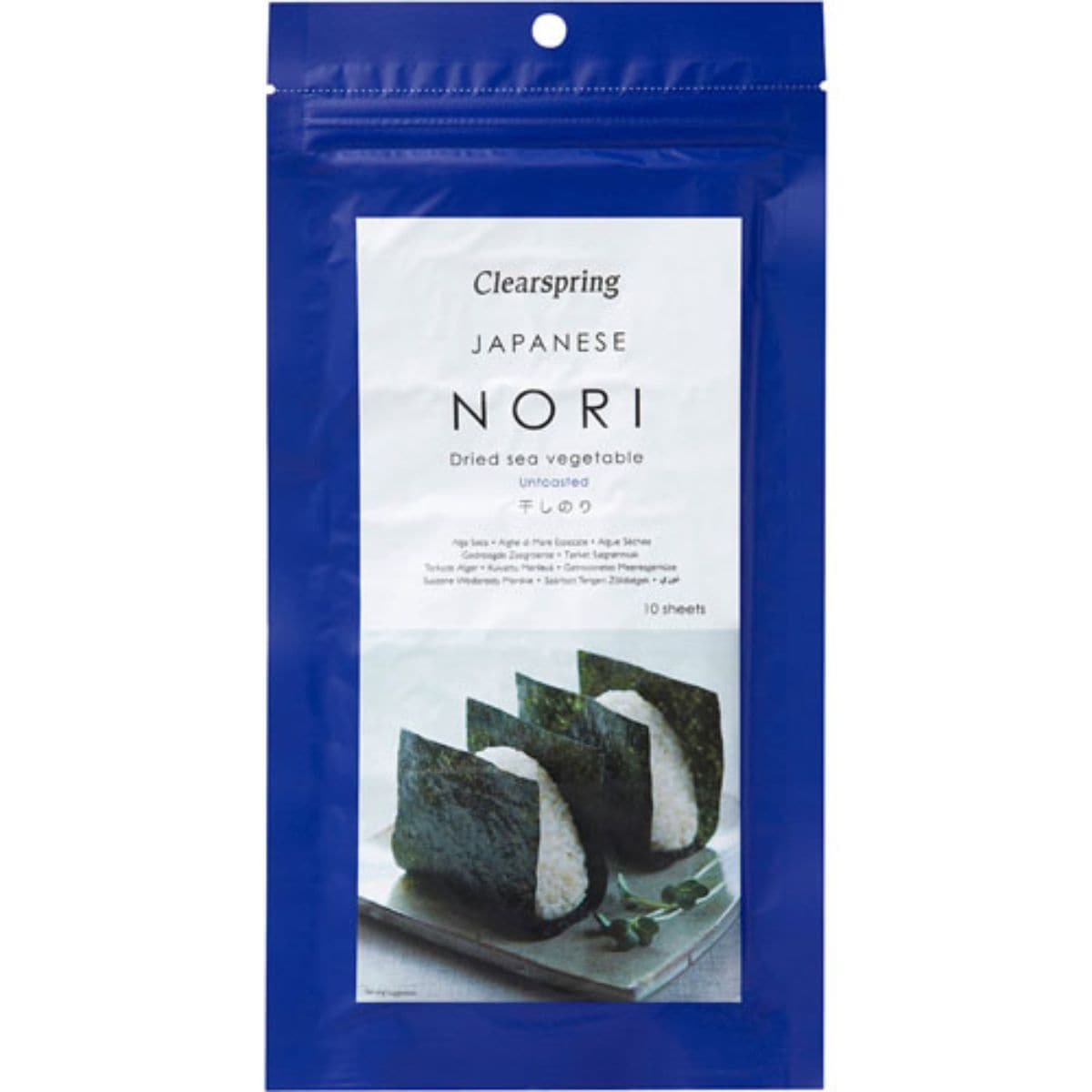 Clearspring Nori Sheets 25g - SoulBia