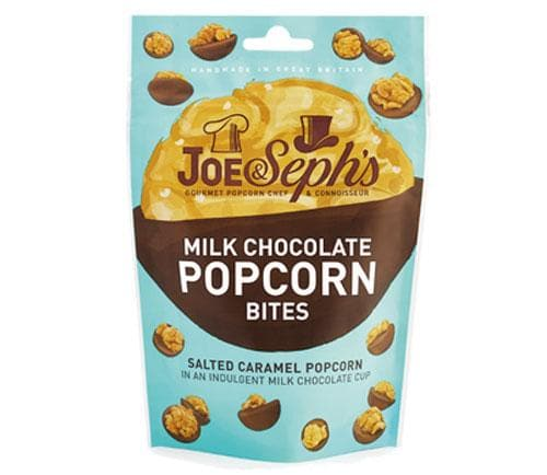 Joe & Sephs Salted Caramel Popcorn Bites - Milk Chocolate 63g - SoulBia