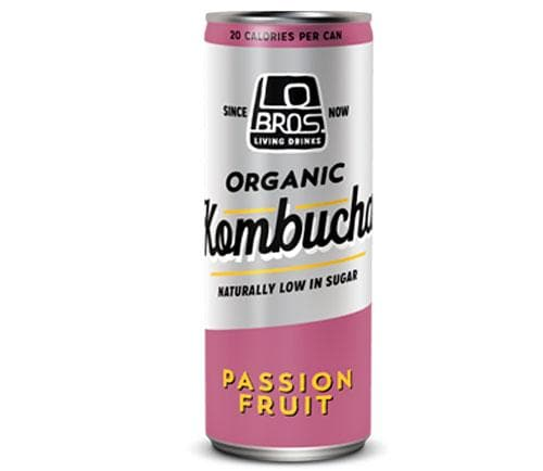 Lo Bros Organic Kombucha Passion fruit- 250ml