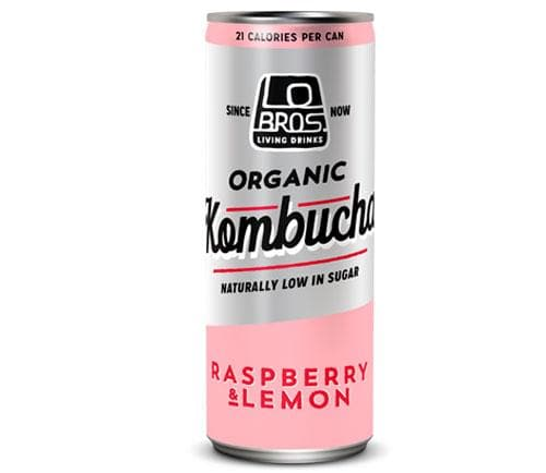 Lo Bros Organic Kombucha Raspberry & Lemon- 250ml - SoulBia