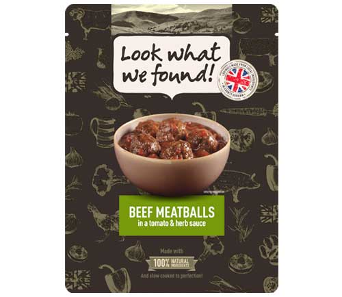 Look What We Found - Italian Beef Meatballs - 250g - SoulBia