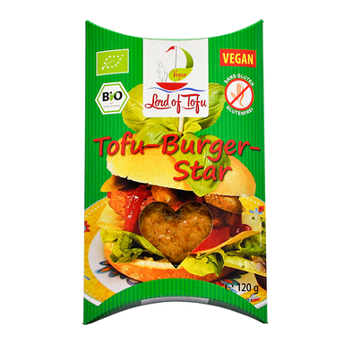 Lord Of Tofu Burger Star - 120g - SoulBia