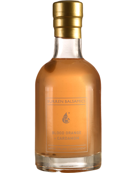 Burren Balsamics - Blood Orange and Cardamon Vinegar 100ml - SoulBia