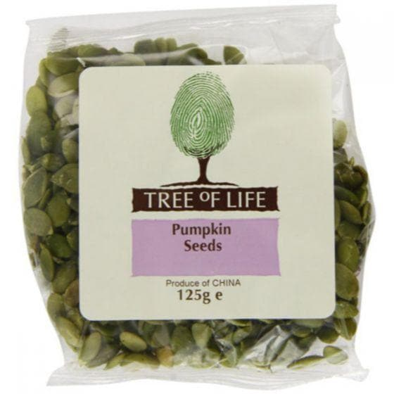 Tree Of Life Pumpkin Seeds - 125g - SoulBia