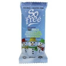 So Free Organic Snowman in Tray - 30g