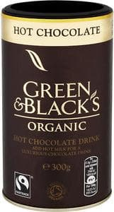 Green & Black's Organic Hot Chocolate Drink - 300g - SoulBia