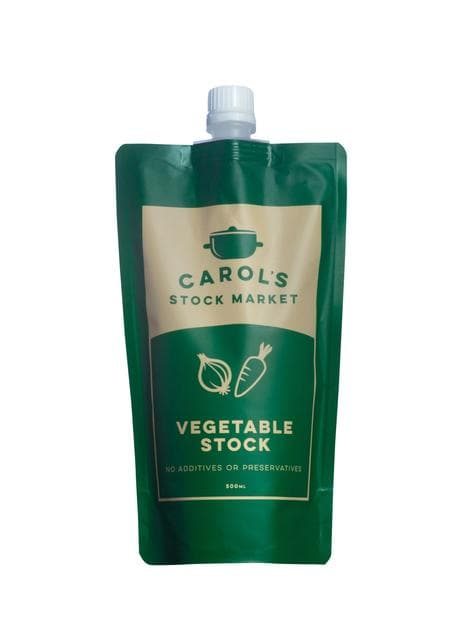Carol's Stock Market Natural Vegetable Stock 500ml - SoulBia