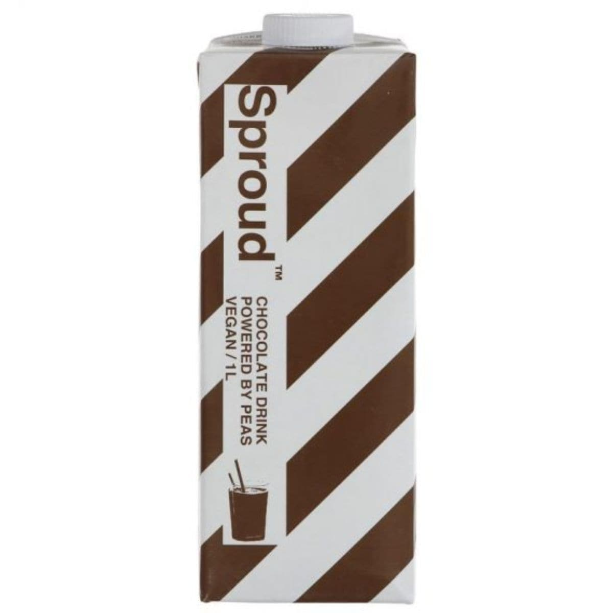 Sproud Chocolate Pea Protein Milk Alternative Drink - 1Ltr - SoulBia