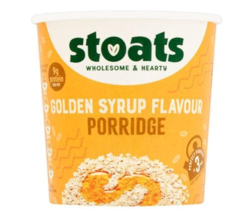 STOATS - GOLDEN SYRUP PORRIDGE POT - 60G - SoulBia