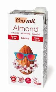Ecomil Almond Milk without Sugar- 1L - SoulBia