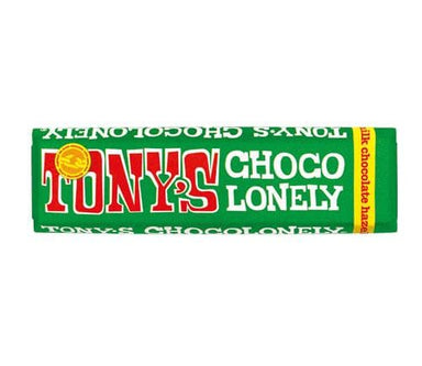 Tony's Chocolonely Milk Chocolate & Hazelnut Bar - 47G - SoulBia