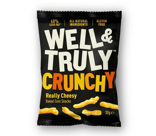 Well & Truly Crunchy Cheese Sticks - 30g