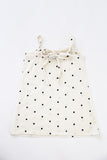 Cream Polka Dot Dress