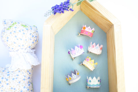 Tiny Crown Clips