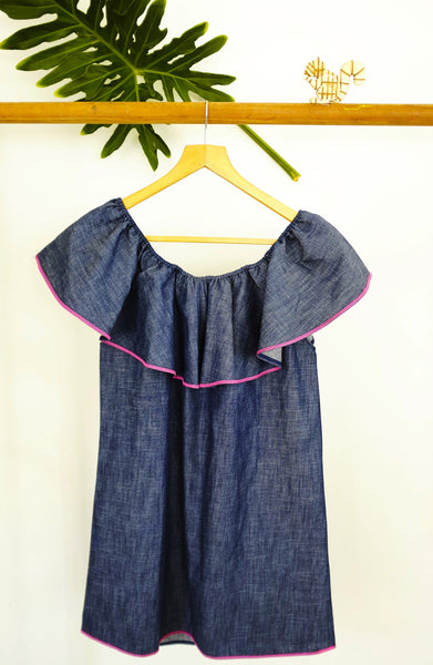 Jacinta Denim Dress MAMA
