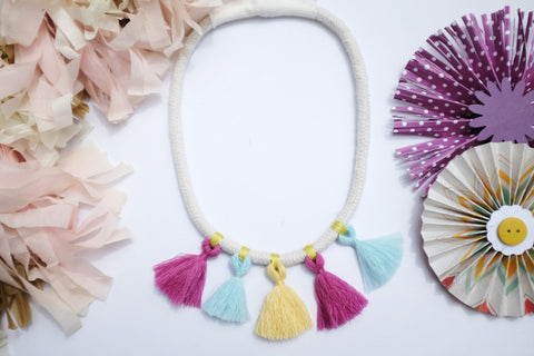 Tassel Cord Necklace