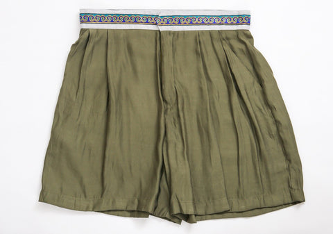 Sabine Pleated Shorts MAMA