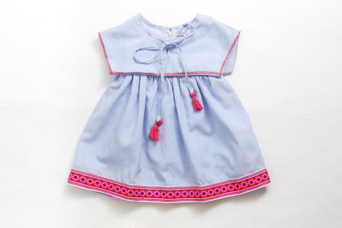 Jacinta Denim Dress KID