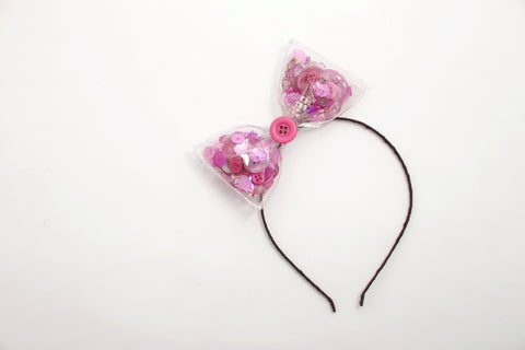 Confetti Bow Headpiece 2.0