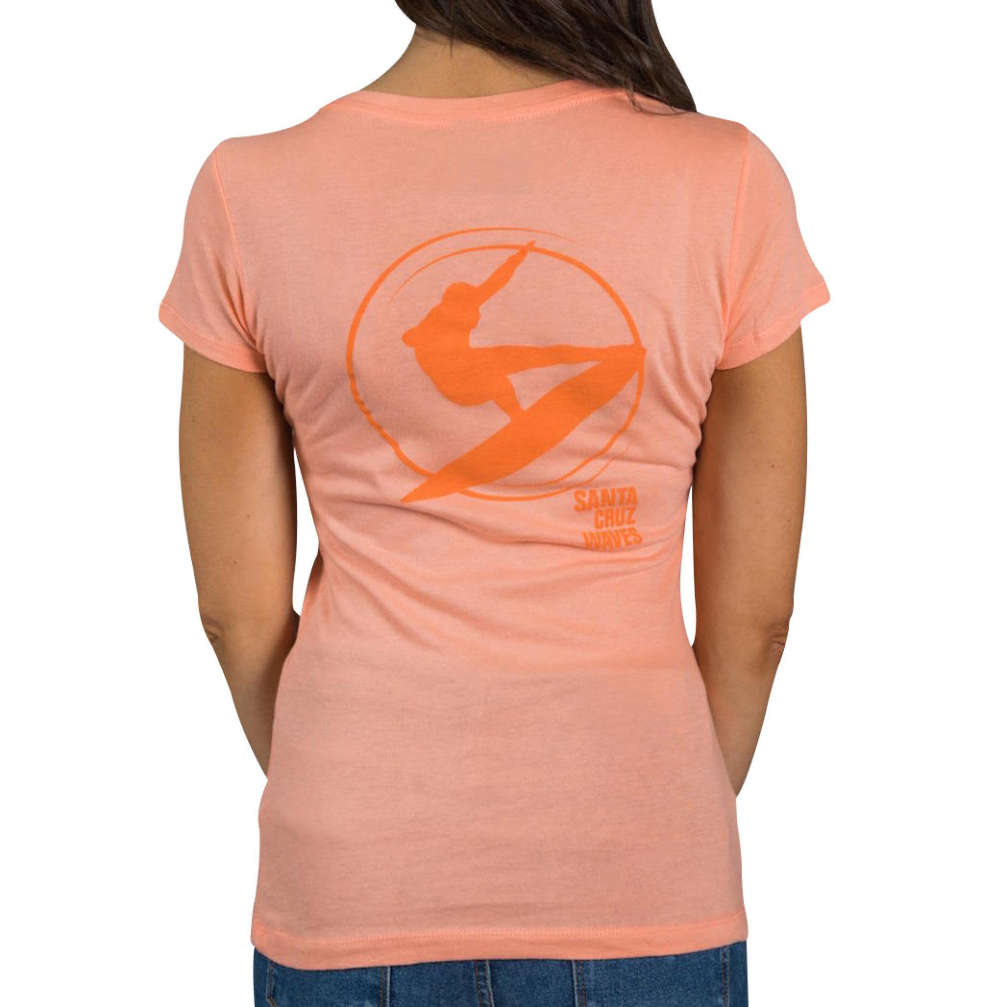 The Santa Cruz Waves V-Neck