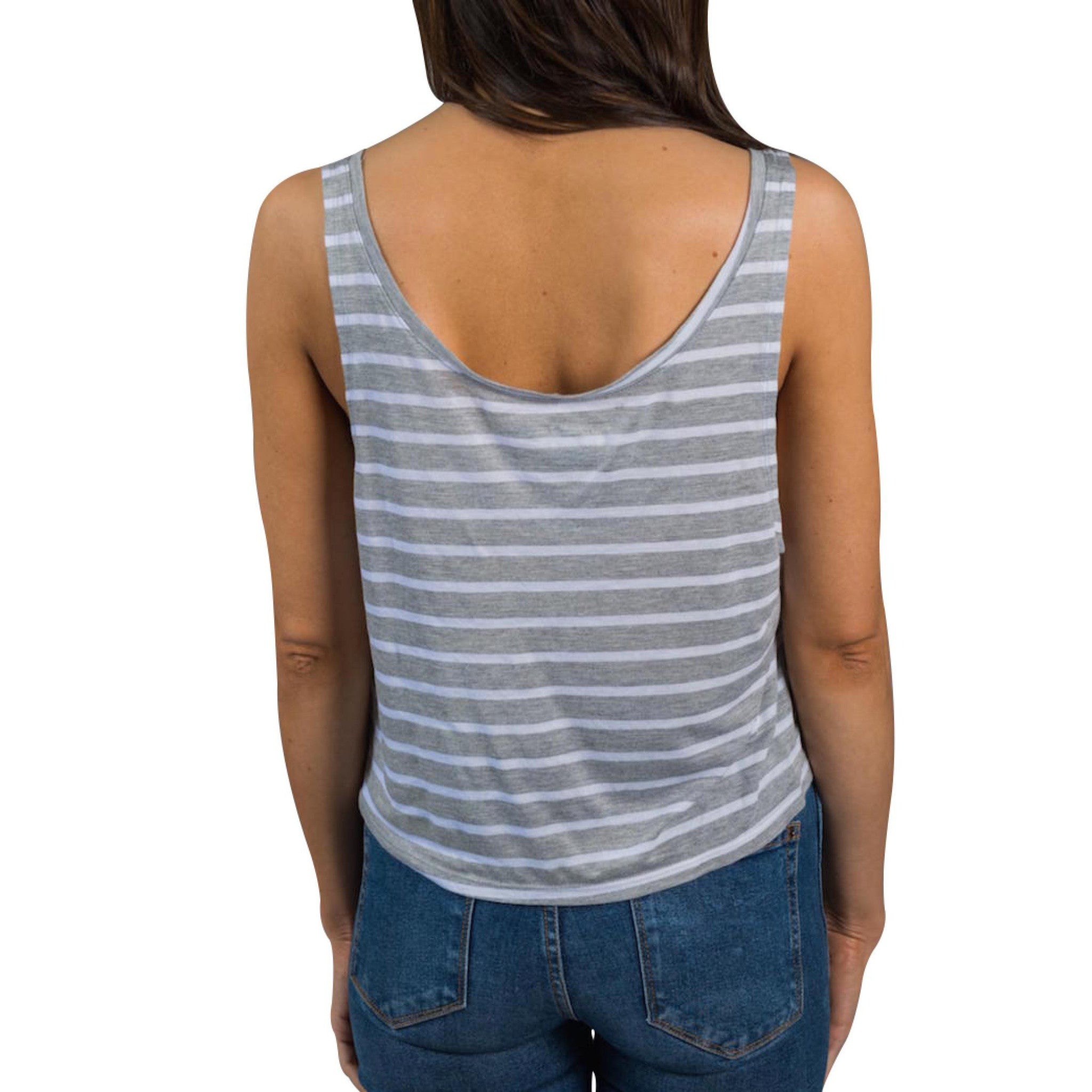 The Striped Santa Cruz Waves Tank