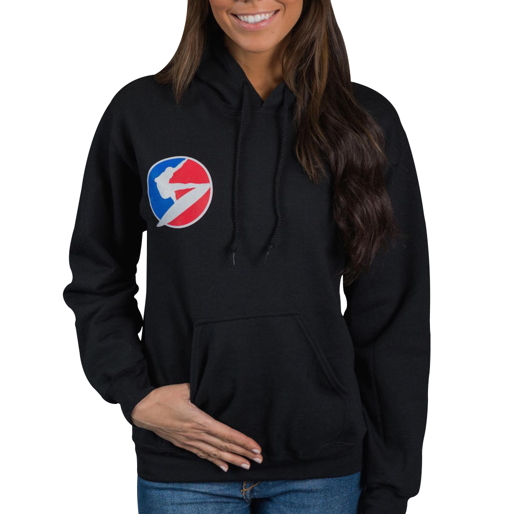 The Ladies Santa Cruz Waves Pullover Hoody