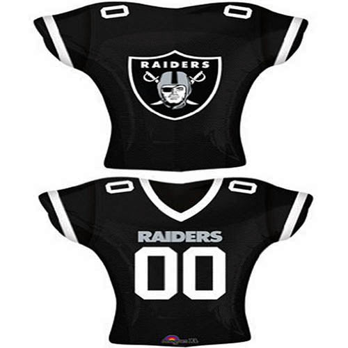 quality design 2bc26 71688 NFL Oakland Raiders Jersey Foil Balloon 24