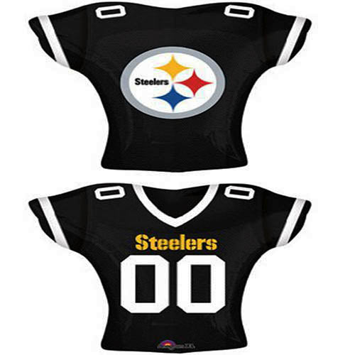 competitive price 0ecf0 9d584 NFL Pittsburgh Steelers Jersey Foil Balloon 24