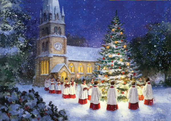 "Evening Carollers<p style=""color_gold"">LUXURY RANGE"