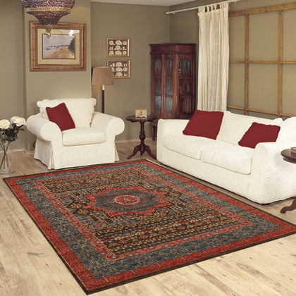 Traditional design navy color rugs & carpets