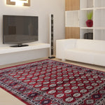 Classy beautiful traditional red design rugs & carpets