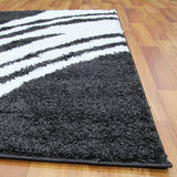 Soft shaggy modern design rugs & carpets