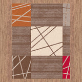 New bright vivid modern design rugs & carpets
