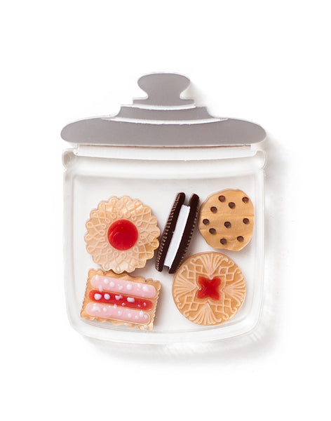 Biscuit Jar Cookie Jar Acrylic Biscuit Jar Brooch