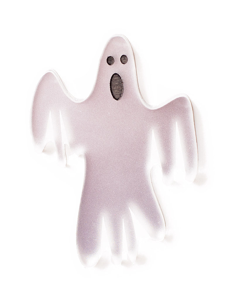 Acrylic Ghost Brooch Halloween
