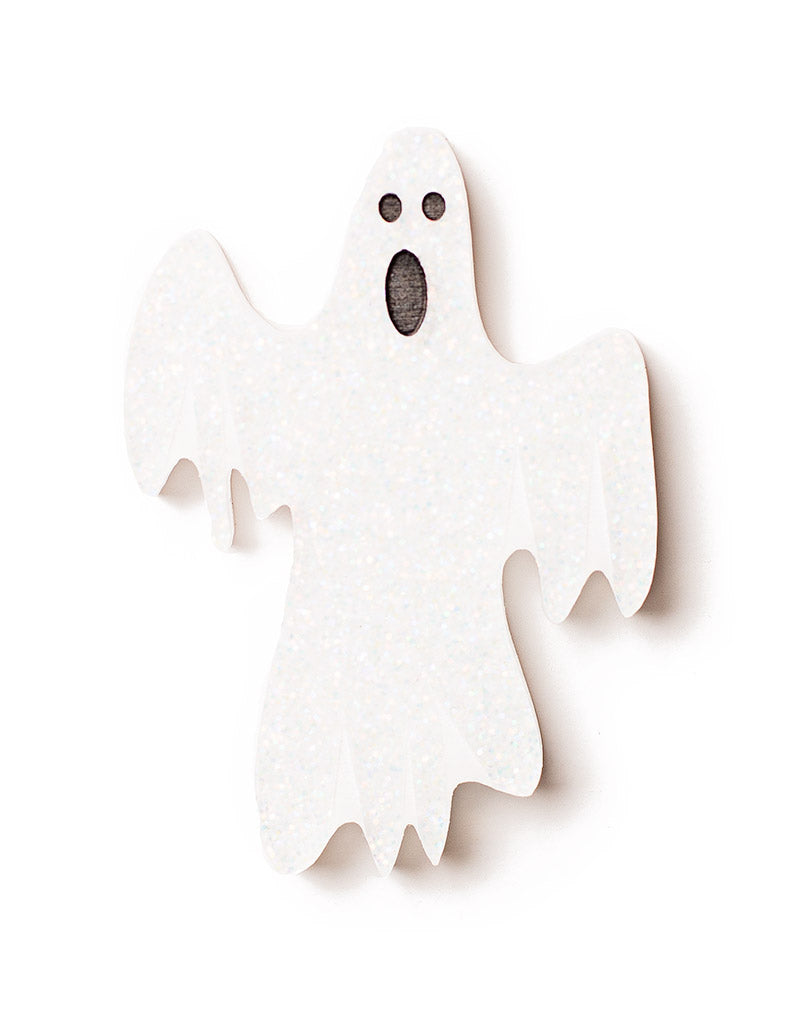 Ghost Glitter Acrylic Brooch Halloween