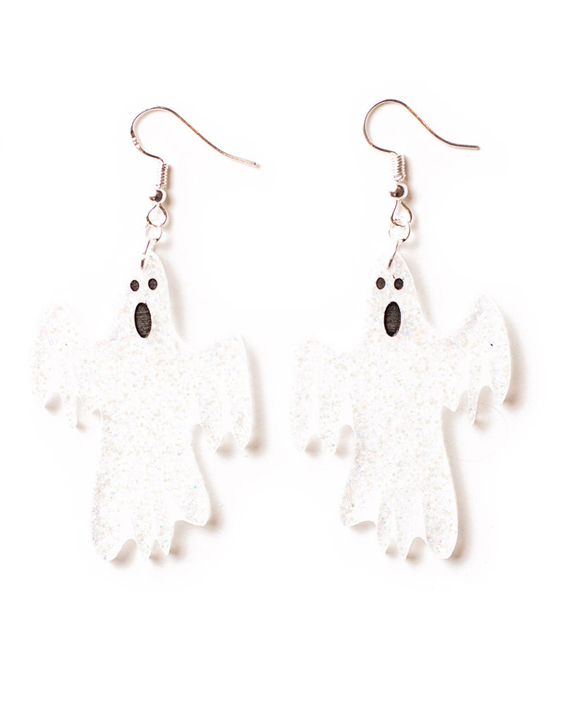 VERY Scary Ghost Earrings