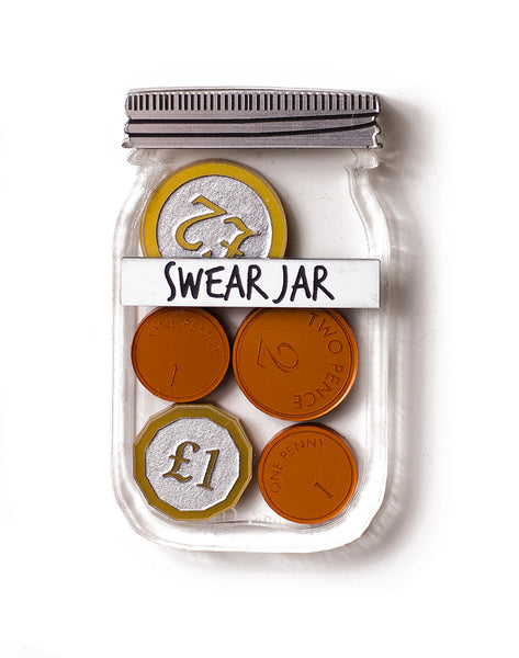Swear Jar - UK Coins